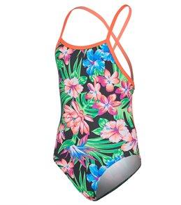 d7e6120010c Funkita Girls Tropic Rocket Tie Me Tight One Piece Swimsuit