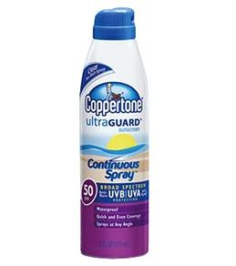 Coppertone GP Continuous Spray Clear SPF 50 6oz