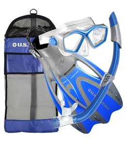 U.S. Divers Icon/SeaBreeze/ Proflex/Cbag Snorkel, Mask and Fin Set