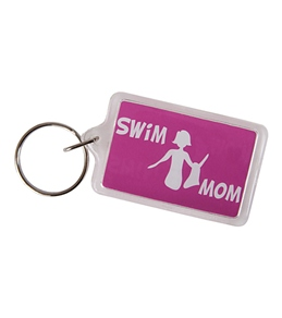 Bay Six Swim Mom Key Ring