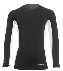Sporti Youth Unisex L/S UPF 50+ Sport Fit Rash Guard