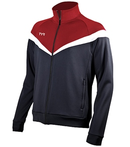 TYR Freestyle Stripe Male Warm Up Jacket