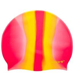 fbd008d7dd80f Sporti Multi Color Silicone Swim Cap