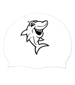 Bettertimes Sharky Silicone Swim Cap