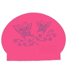 Bettertimes Butterfly Solid Latex Swim Cap