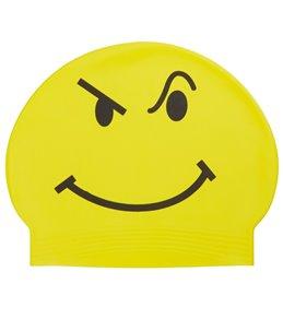 Bettertimes Attitude Solid Latex Swim Cap