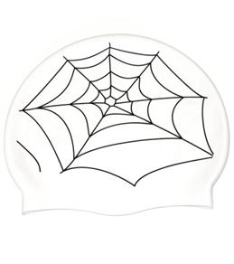 Bettertimes Spiderweb Solid Latex Swim Cap
