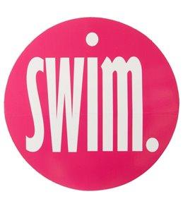 Bay Six Swim Round Decal
