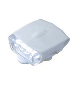 Topeak Cycling WhiteLite DX USB Front Safety Light White w/White LED