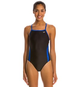 Speedo Rapid Spliced Energy Back Swimsuit