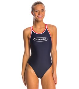 TYR Lifeguard Solid Dimaxfit One Piece Swimsuit