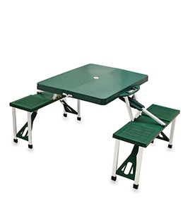 Picnic Time Folding Table With Seats