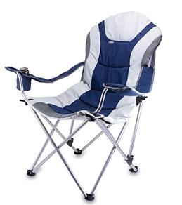Picnic Time Reclining Camp & Beach Chair