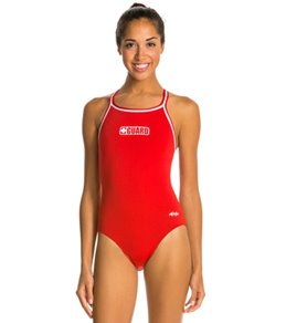Dolfin Poly Lifeguard DBX Back One Piece Swimsuit
