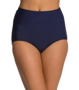 Penbrooke Swimwear Solid Girl Leg Bikini Bottom