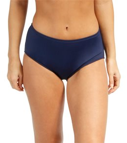 Beach House Swimwear Solid High Waisted Bikini Bottom