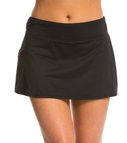 Beach House Solid Swim Skort