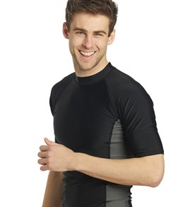 Sporti Men's S/S UPF 50+ Sport Fit Rash Guard