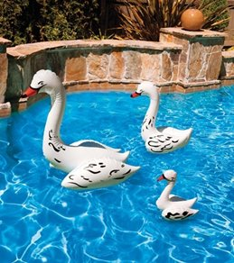 Poolmaster 28 Swan Pool Decor