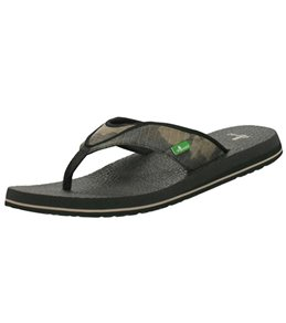 Sanuk Men's Beer Cozy Flip Flop