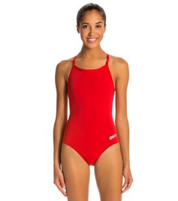 1a310b6692b Arena Women's Master MaxLife Sporty Thin Strap Racer Back One Piece Swimsuit  Quick view. Video