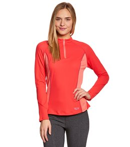 Mountain Hardwear Women's Aliso Long Sleeve Running Zip-T