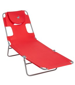 Ostrich Face Down Chaise Lounge