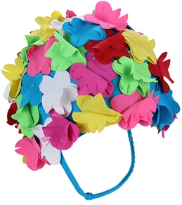 Speedo Flower Swim Cap