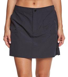 Maxine Women's Solid Woven Boardskirt