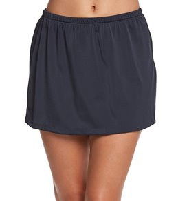 Maxine Solid Swim Skirt