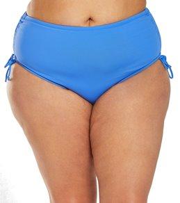 238646de66 Beach House Plus Size Solid Hayden High Waisted Adjustable Side Bikini  Bottom