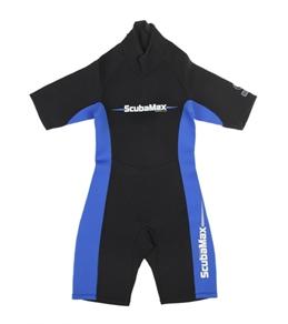 ScubaMax Kids' 3mm Neoprene Shorty Wetsuit