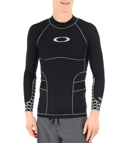 Oakley Men's Surface Tension Compression Top Long Sleeve Rashguard