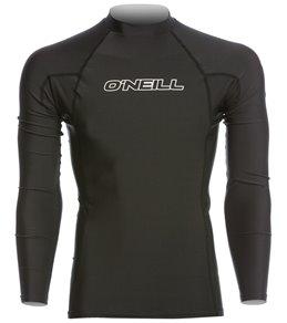 7c35a93368e5 O Neill Men s Basic Skins Long Sleeve Crew Rashguard