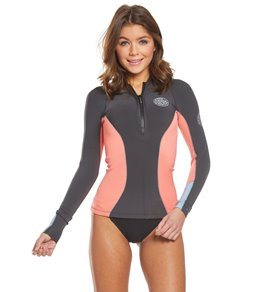 Rip Curl Women's 1mm G-Bomb Long Sleeve Front Zip Wetsuit Jacket