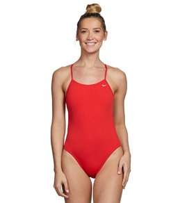 bf86b0781b8 Nike Swim Polyester Cut-Out Tank Swimsuit