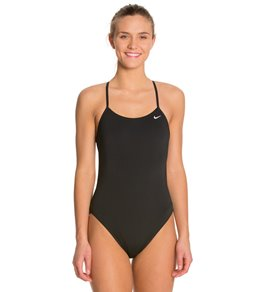 121a89913c Nike Swim Polyester Cut-Out Tank Swimsuit