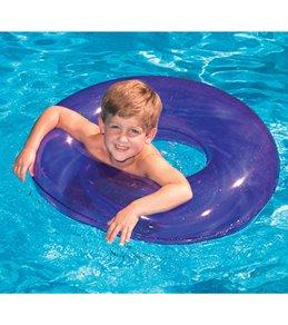 Swimline 30 Candy Transparent Swim Ring