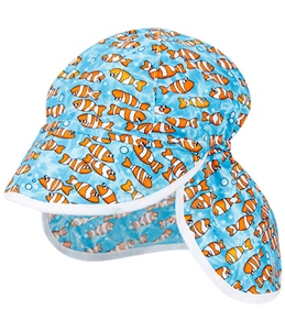 Bummis Infant Clownfish Flap Sun Hat (3mos-24mos)