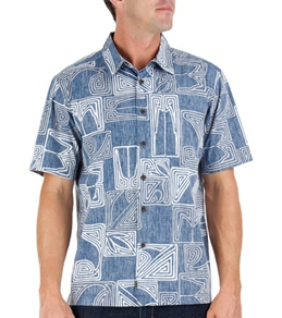 Quiksilver Waterman's Kahutara Short Sleeve Shirt