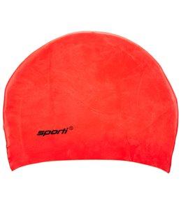 Sporti Long Hair Silicone Swim Cap 03ec44107bd1