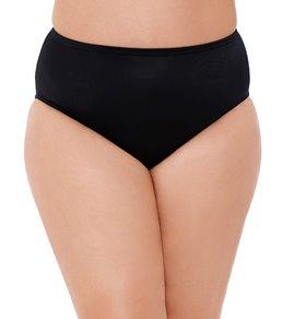Miraclesuit Plus Size Solid Basic Bikini Bottom