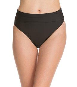 Swim Systems Onyx Convertible Roll Up-Down Bikini Bottom