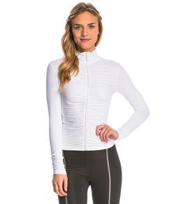 Alii Sport Women's Adriana Long Sleeve Jacket with Ruching
