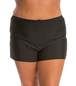 Ceeb Plus Size Solid Boy Leg Bottom