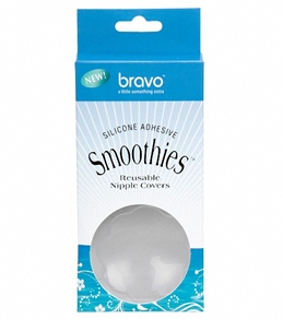 Bravo Clear Silicone Adhesive Smoothies Nipple Covers