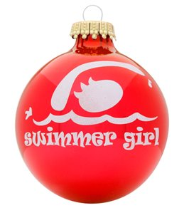 Bay Six Swimmer Girl Ornament