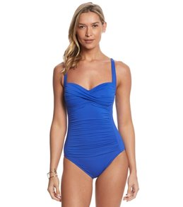 La Blanca Core Solid Sweetheart One Piece Swimsuit