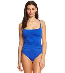 La Blanca Core Solid Lingerie One Piece Swimsuit