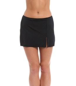 Fit4U Swimwear Swim Skirt with Slit Bottom